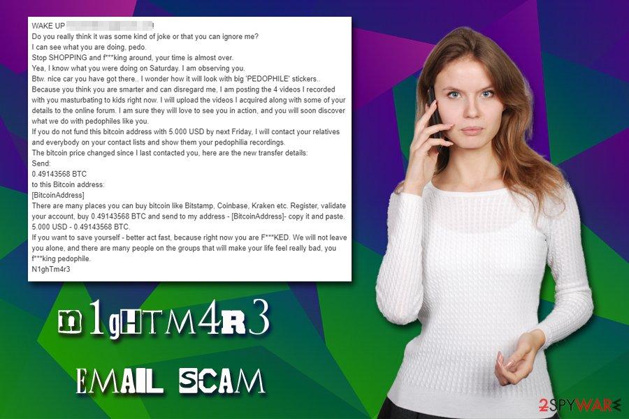 N1ghTm4r3 email scam virus