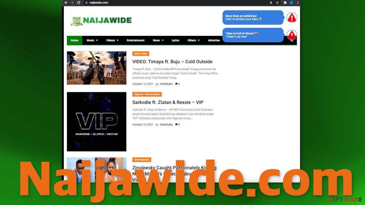 Naijawide.com ads