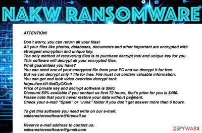 Nakw ransomware
