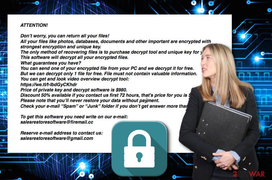 Nakw ransomware virus