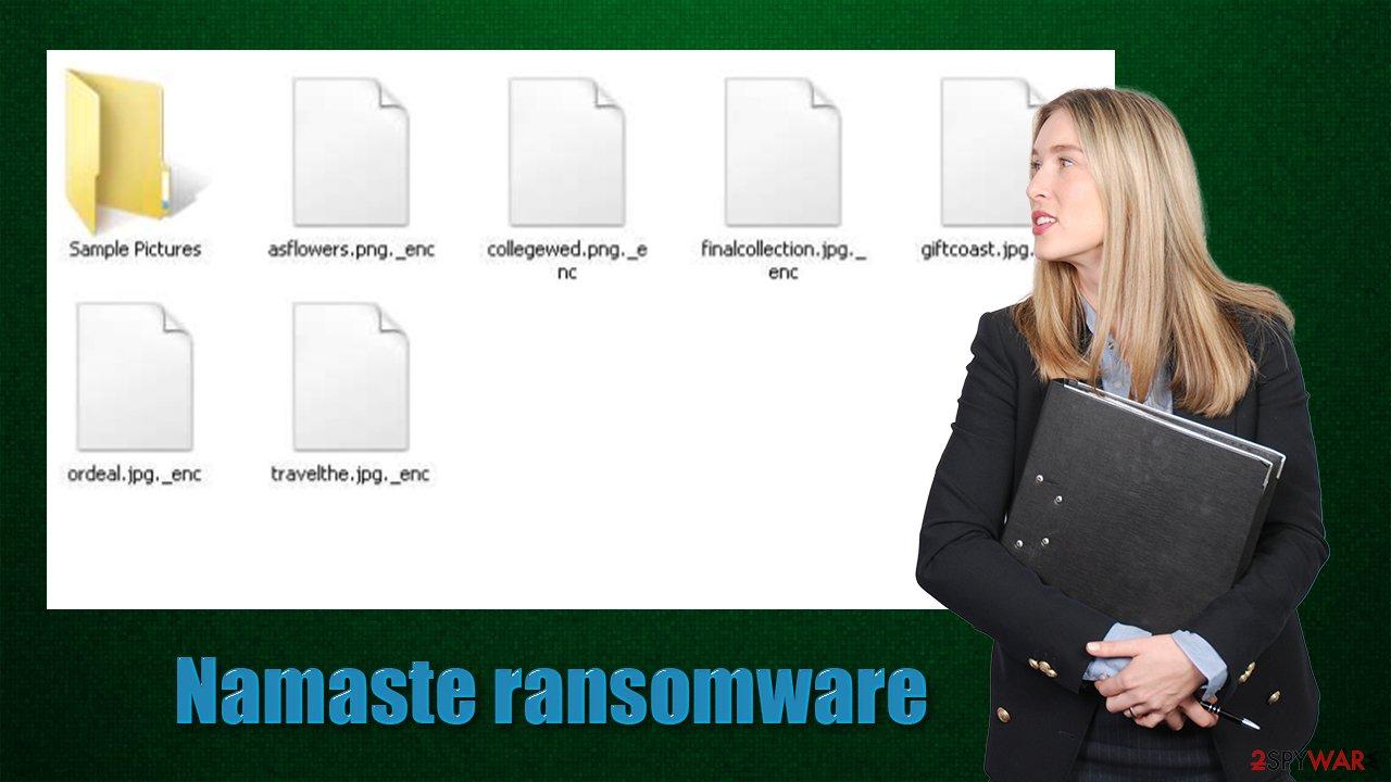 Namaste ransomware virus