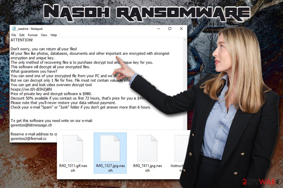 Nasoh ransomware virus