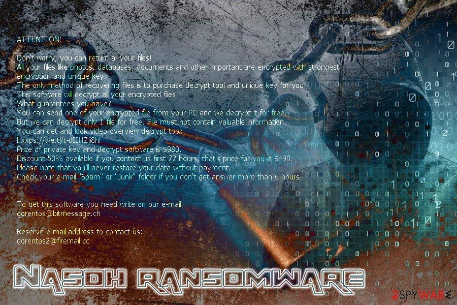 Nasoh ransomware