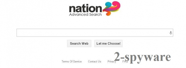Nation Advanced Search snapshot
