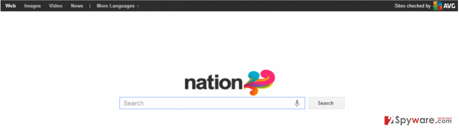 Nation Toolbar snapshot