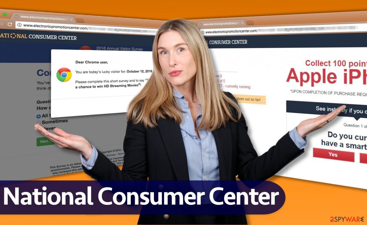 National Consumer Center scam