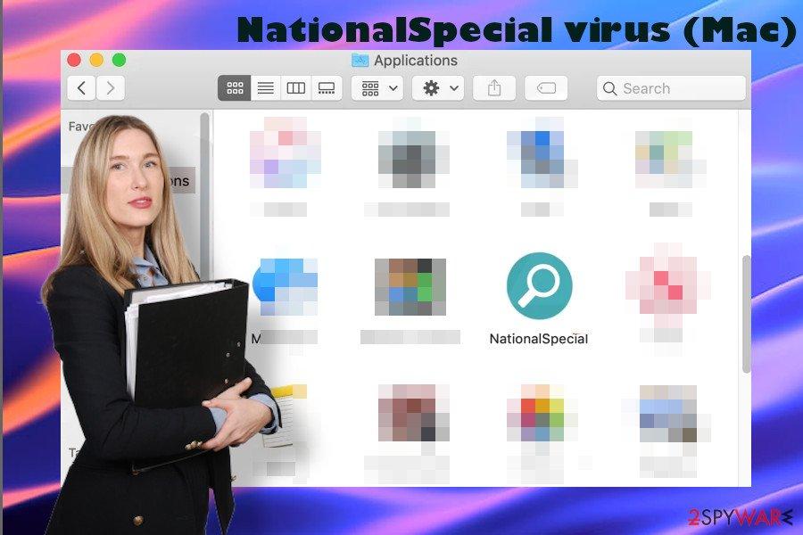 NationalSpecial virus on Apps folder