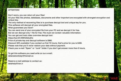 Nbes ransomware virus