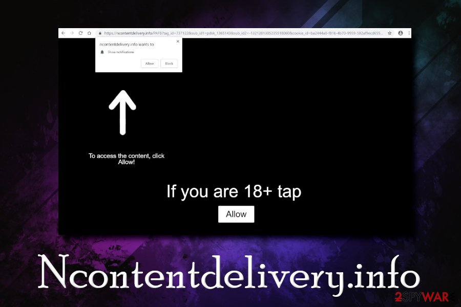 Ncontentdelivery.info virus