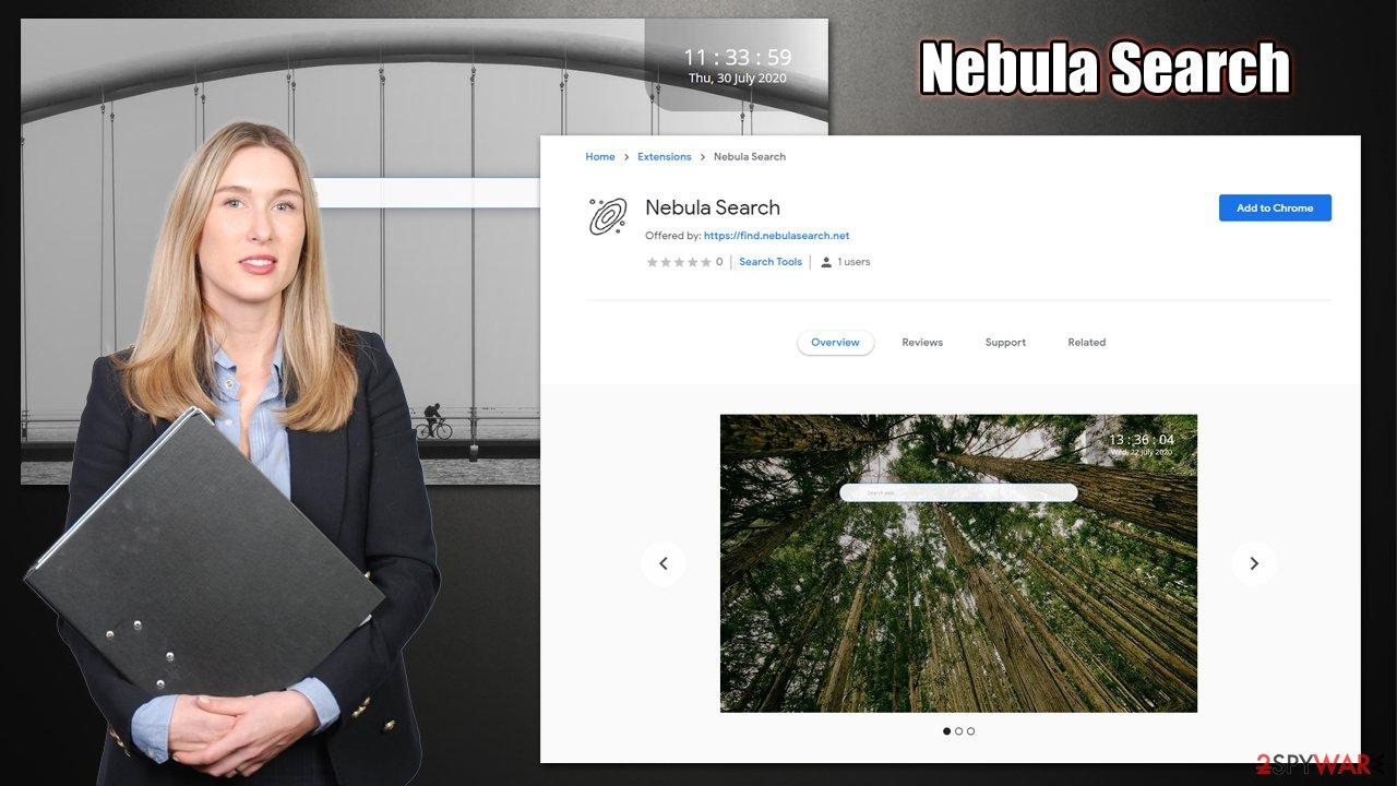 Nebula Search hijack