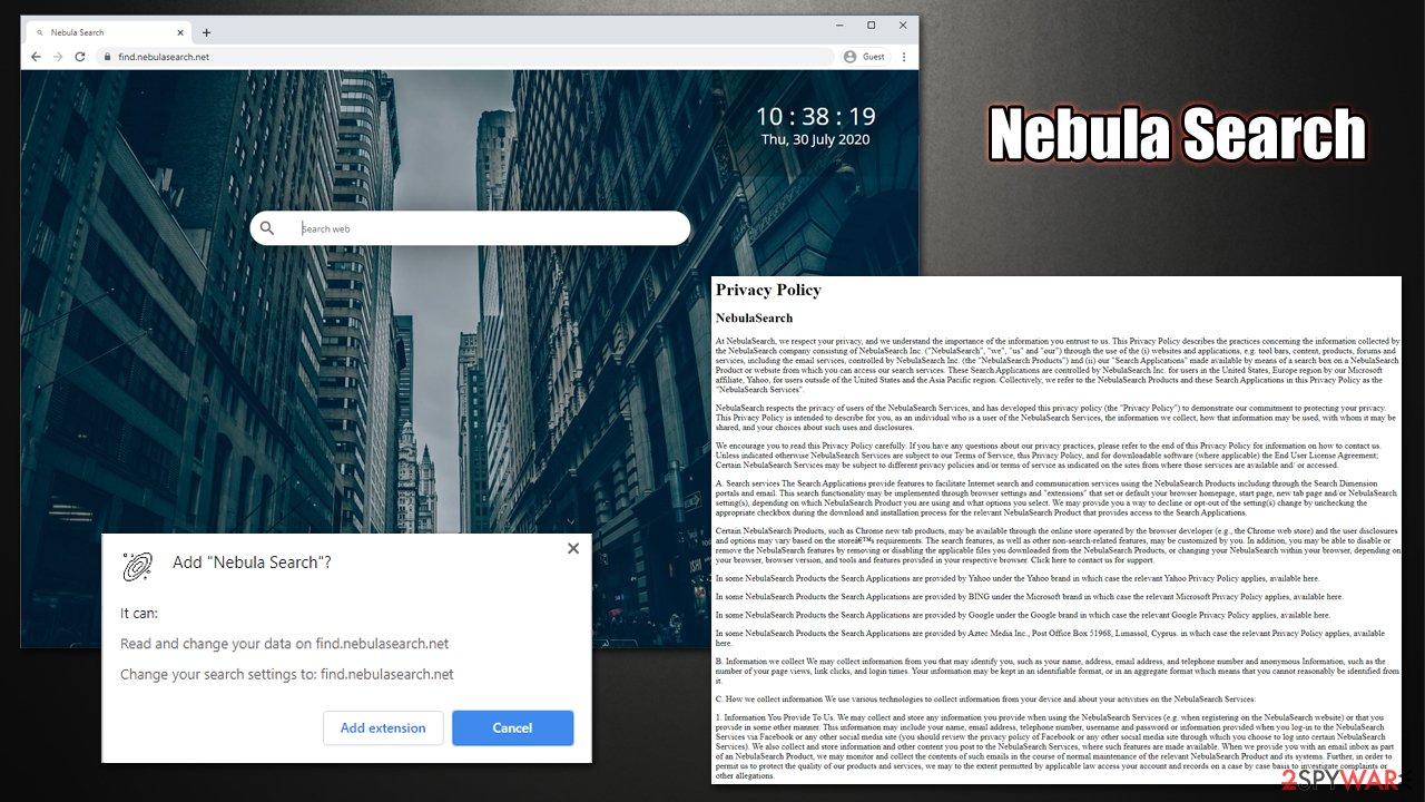 Nebula Search virus