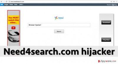 Need4search.com redirect virus