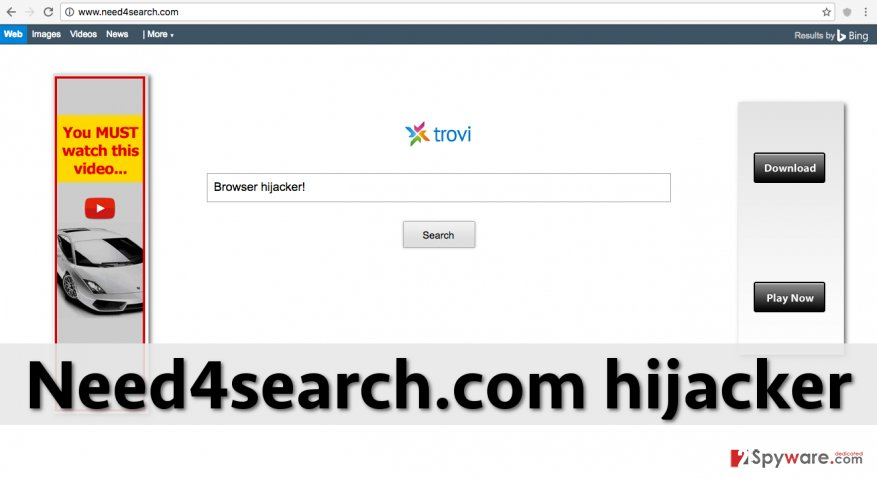 Need4search.com redirect virus