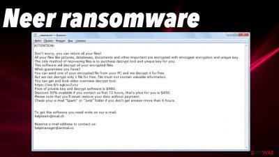 Neer ransomware