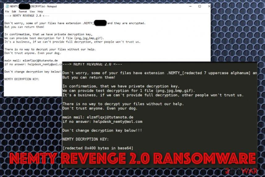 Nemty Revenge 2.0 ransomware