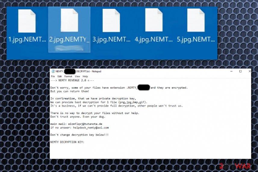 Nemty Revenge 2.0 virus