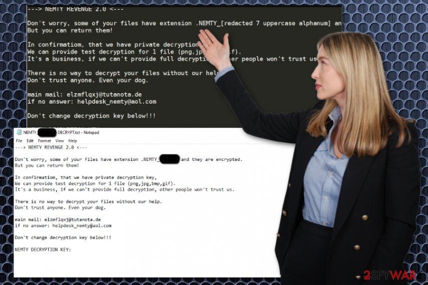 Nemty Revenge 2.0 ransomware virus