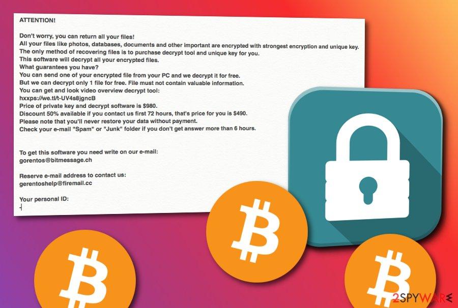 Nesa ransomware virus