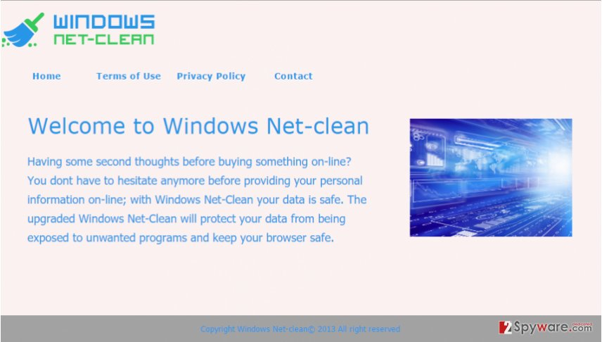 Net-clean ads
