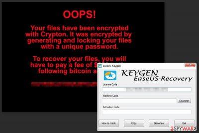 Image of NETCrypton ransomware