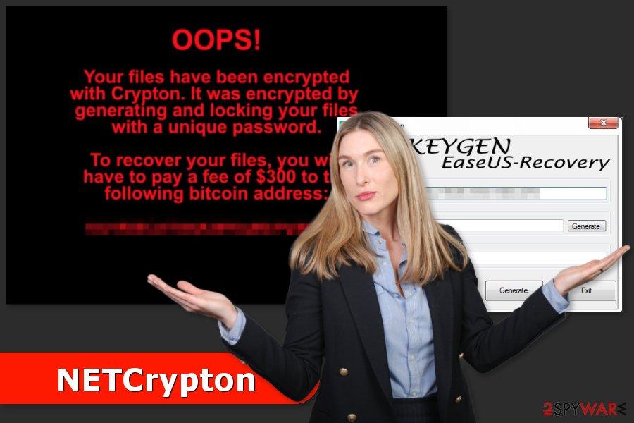 NETCrypton ransomware virus attack
