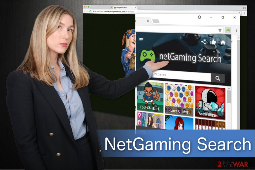 NetGaming Search Illustration