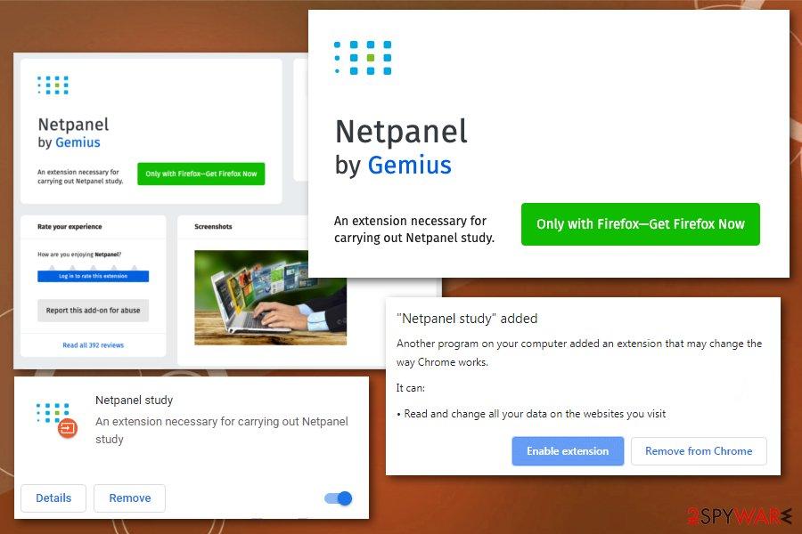 NetPanel Study spyware