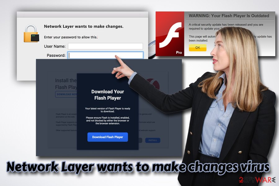 Network Layer wants to make changes virus