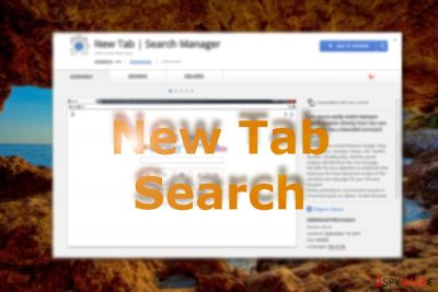 New Tab Search browser hijacker