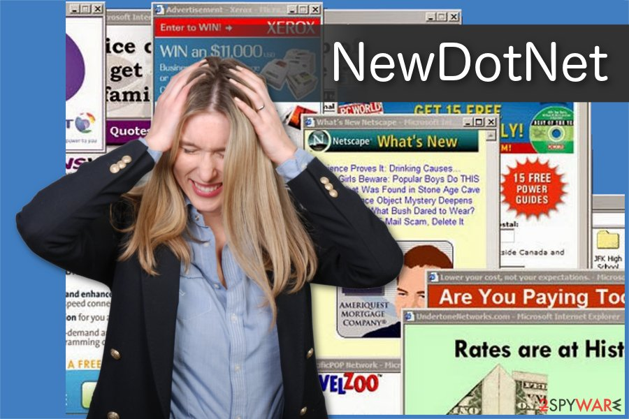 NewDotNet adware illustration