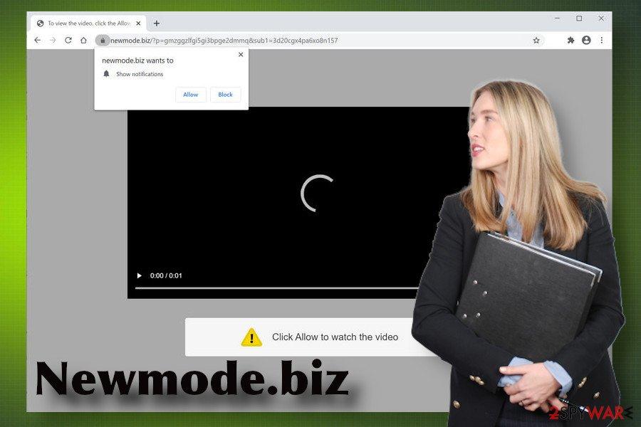 Newmode.biz virus