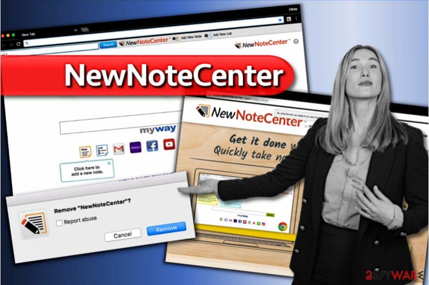 NewNoteCenter search
