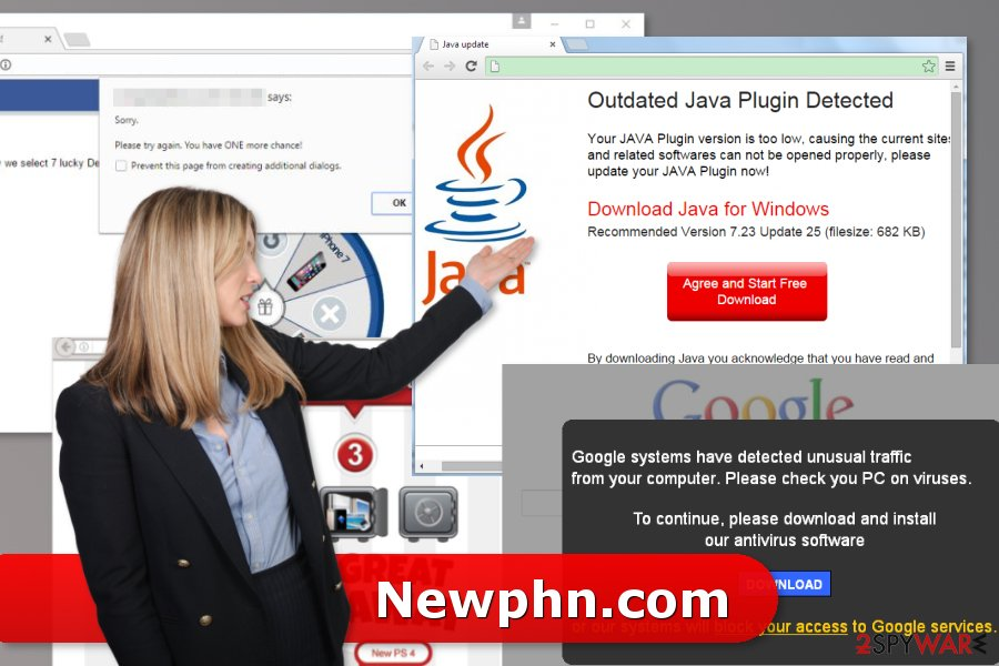 The picture of Newphn.com adware