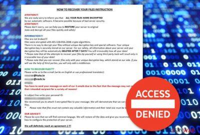 NEWRAR ransomware virus