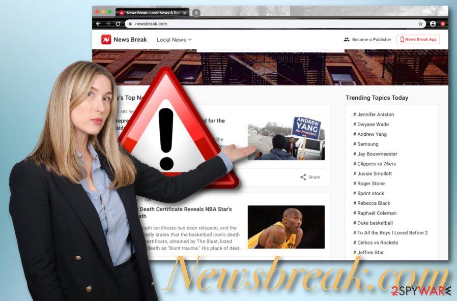 Newsbreak.com adware