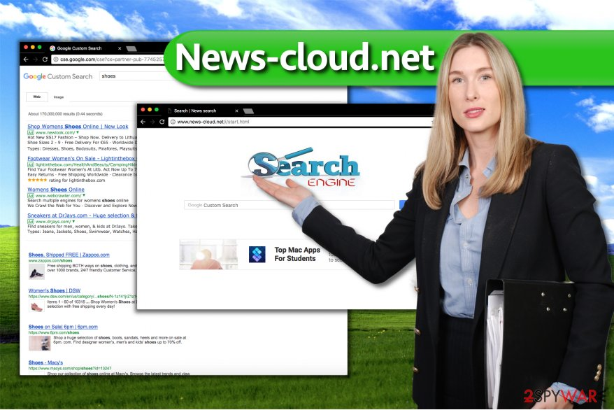 Image of News-cloud.net virus