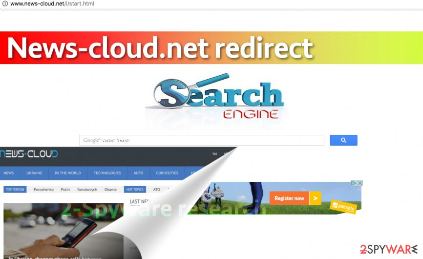 News-cloud.net redirect virus