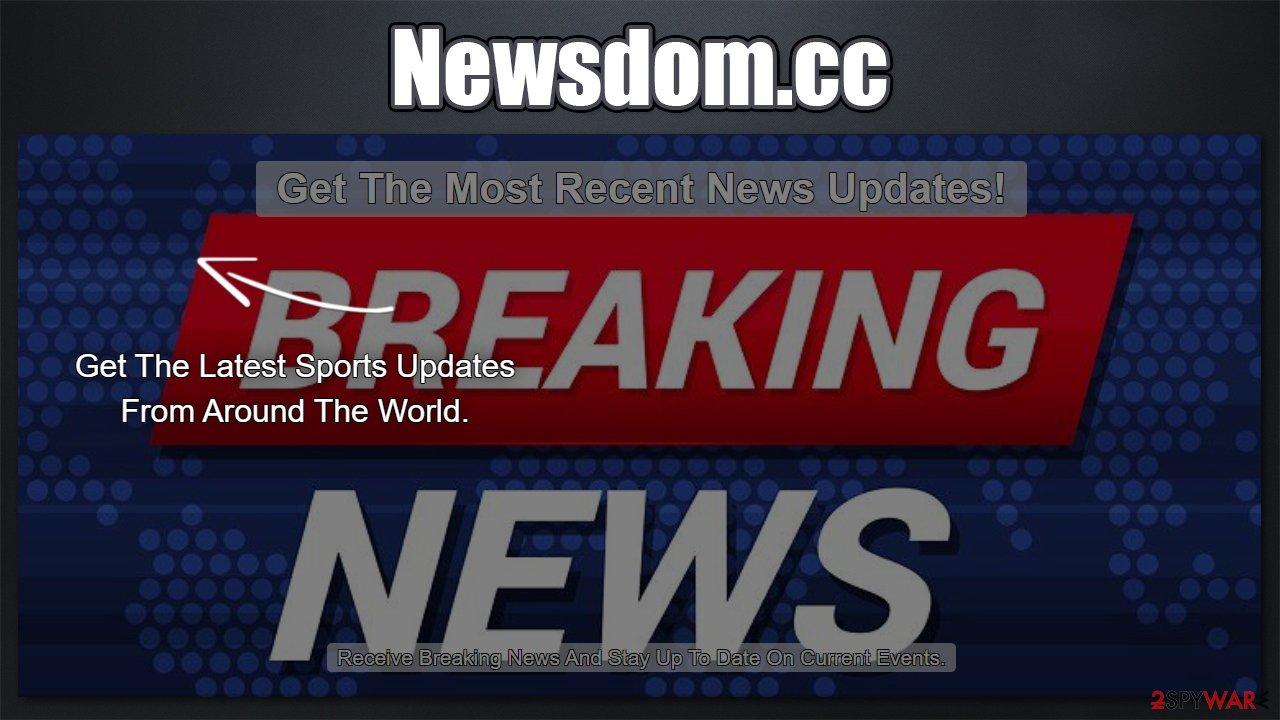 Newsdom.cc fake