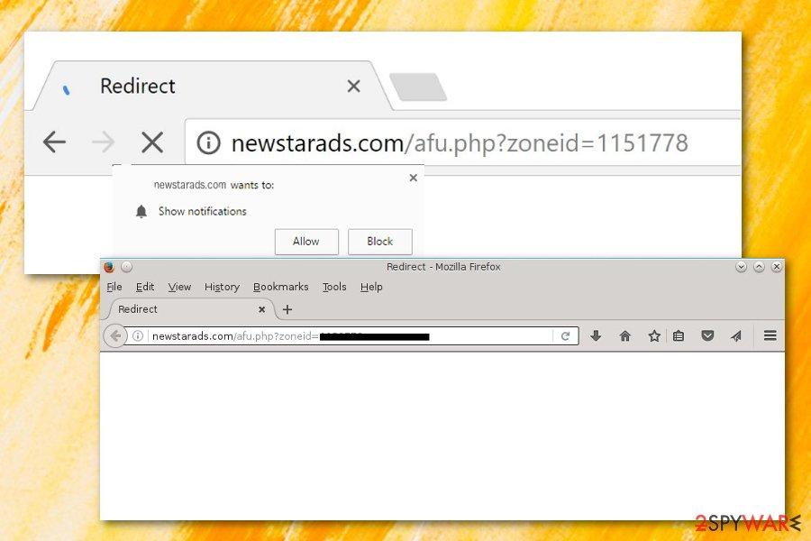 Newstarads.com adware