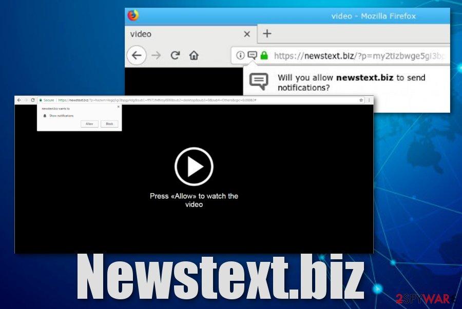 Newstext.biz adware