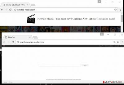 Image of Newtab-media.com virus