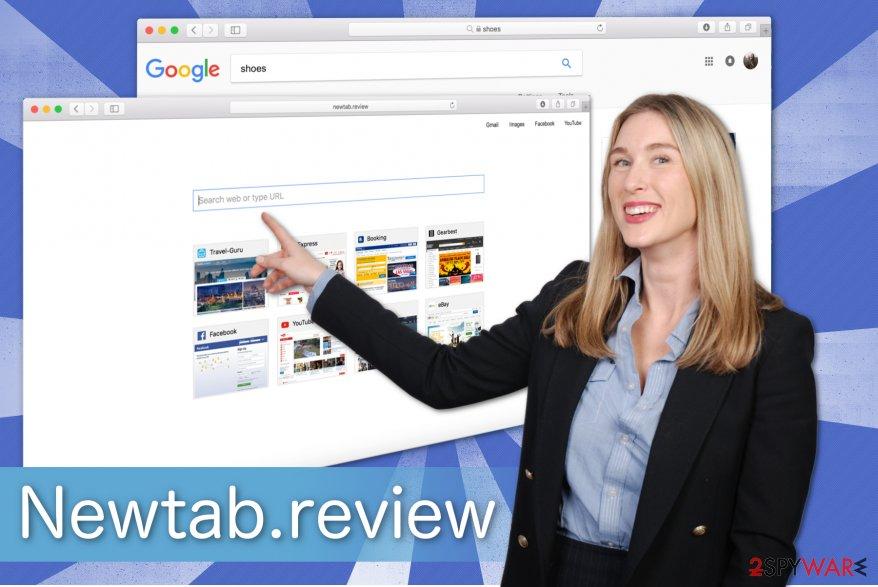 Newtab.review illustration