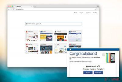 Image of NewTab.win virus