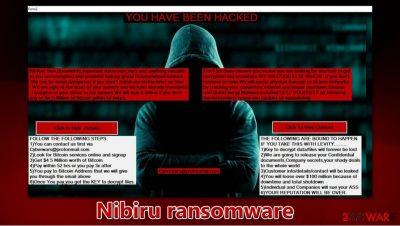 Nibiru ransomware