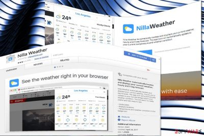 Nilla Weather official site