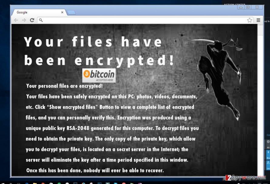 Ninja_gaiver@aol.com encrypts personal files