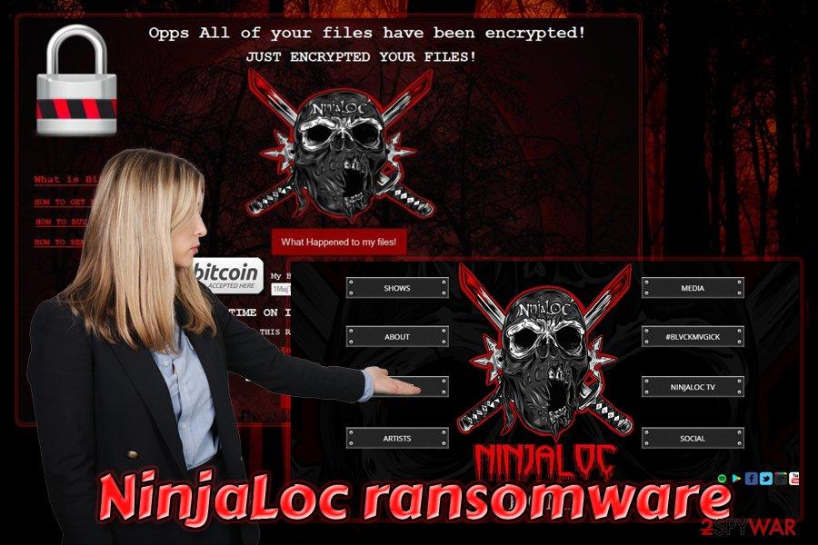 NinjaLoc virus