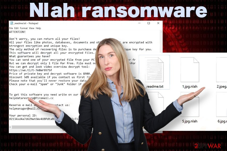 Nlah ransom note