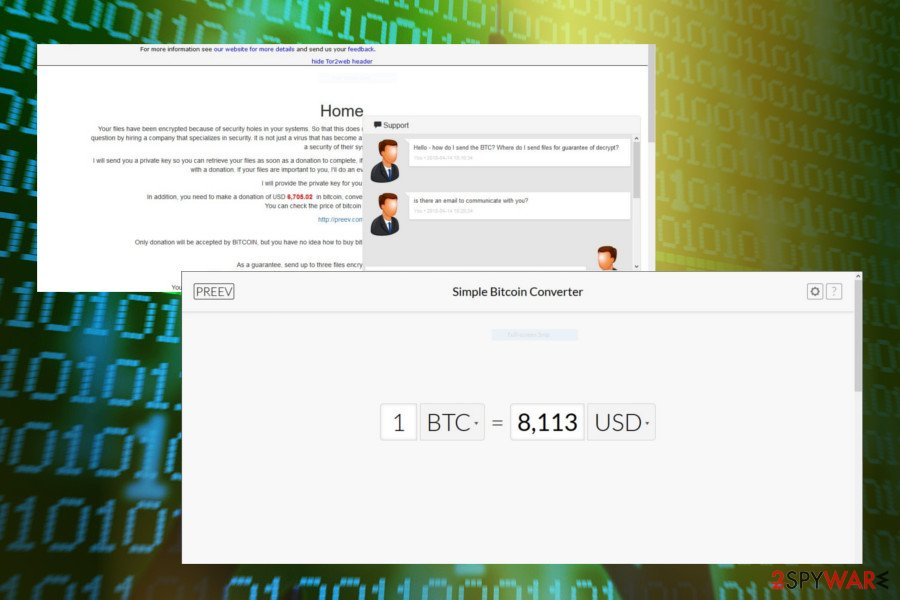 NM4 ransomware demands for 1BTC