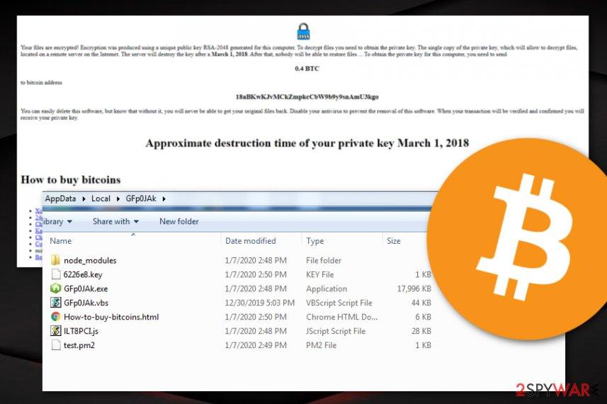 Nodera ransomware virus